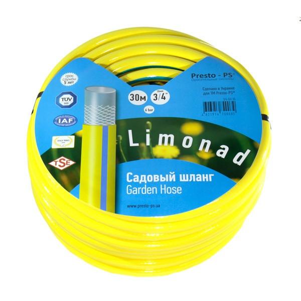 Шланг для полива Evci Plastik Tropik (Limonad) садовый диаметр 3/4 дюйма, длина 30 м (3/4 G H 30)