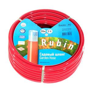 Шланг для полива Evci Plastik Dominik (Rubin) садовый диаметр 3/4 дюйма, длина 30 м (3/4 GHR 30), фото 2