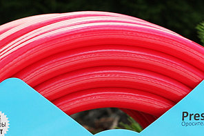 Шланг для полива Evci Plastik Dominik (Rubin) садовый диаметр 3/4 дюйма, длина 50 м (3/4 GHR 50), фото 3