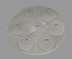 Набор вставок-жиклеров клапана отбора (0,5-2,0мм)