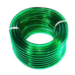 Шланг для полива Evci Plastik Софт Силикон (Caramel зеленый) садовый диаметр 3/4 дюйма, длина 30 м (CAR-3/4, фото 2