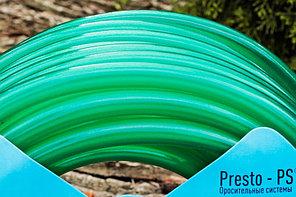 Шланг для полива Evci Plastik Софт Силикон (Caramel зеленый) садовый диаметр 3/4 дюйма, длина 20 м (CAR-3/4, фото 3