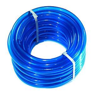 Шланг для полива Evci Plastik Софт Силикон (Caramel синий) садовый диаметр 1/2 дюйма, длина 50 м (CAR B-1/2, фото 2