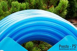 Шланг для полива Evci Plastik Софт Силикон (Caramel синий) садовый диаметр 1/2 дюйма, длина 50 м (CAR B-1/2, фото 3
