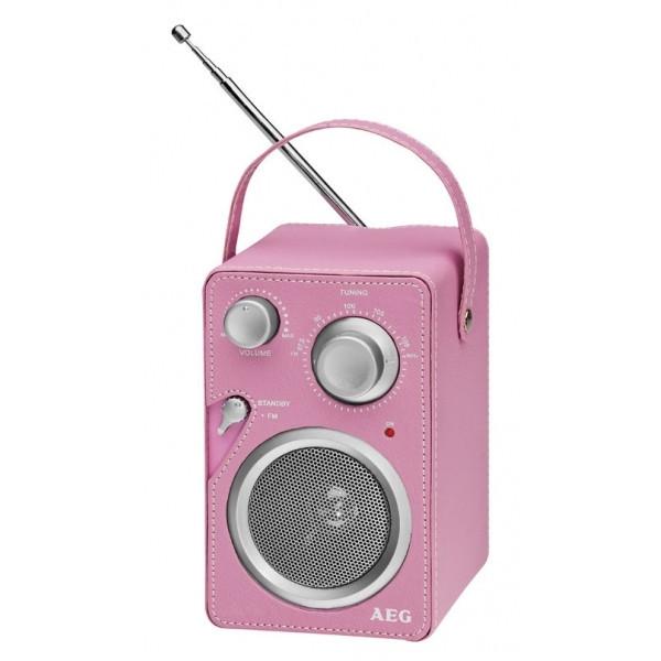 Радиоприемник AEG MR 4144 розовый