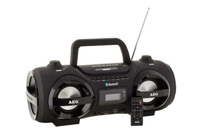 Магнитола с CD/MP3/Bluetooth/USB AEG SR 4359 BT черная, фото 2