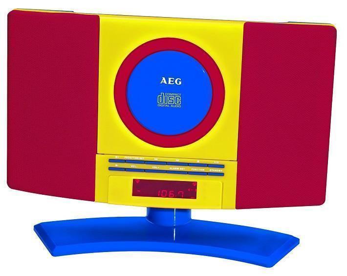 Музыкальный центр с яркой окраской AEG MC 4464