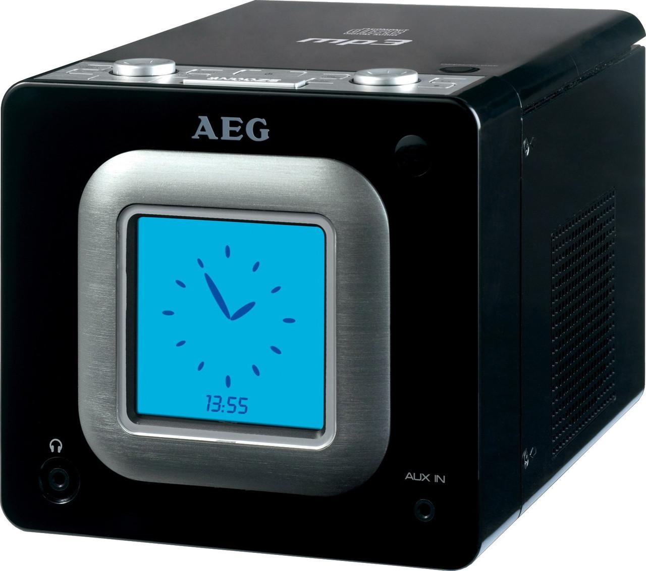 Радиочасы AEG SRC 4325 с CD/MP3