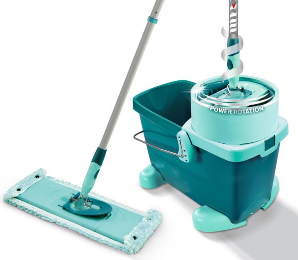 Набор для уборки Leifheit Clean Twist System XL Ведро со шваброй