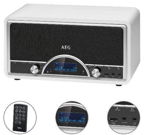 Радиоприемник AEG NDR 4378 белый