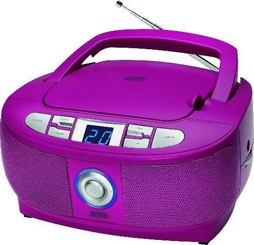 Магнитола AEG SR 4379 фиолетовая