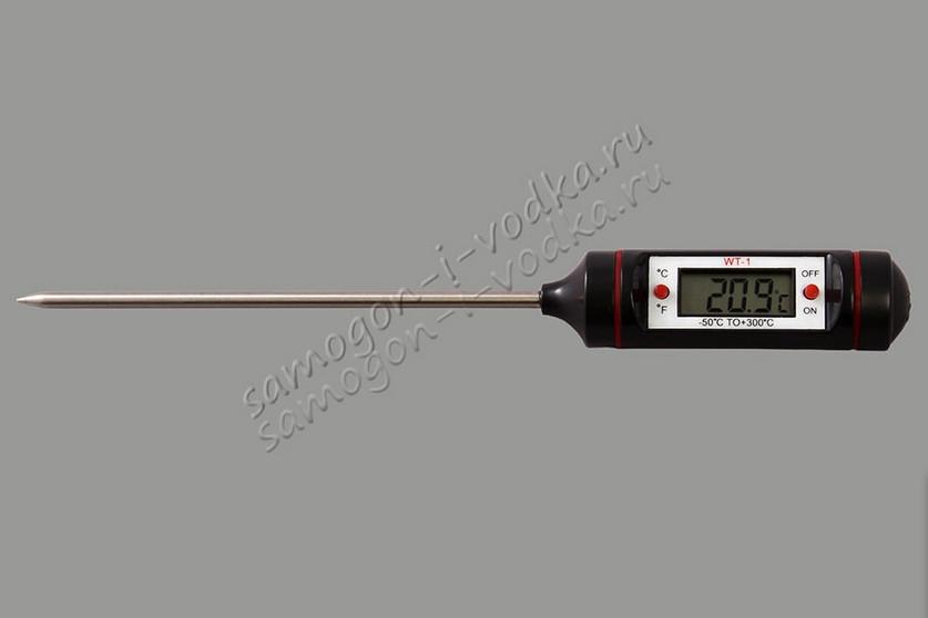 Электронный спиртометр/термометр ЭТС -223