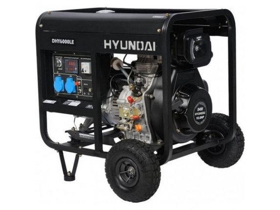 Генератор Hyundai DHY6000LE, фото 2