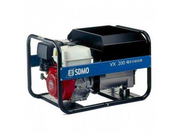 Генератор сварочный SDMO VX 200 4 HS, фото 2