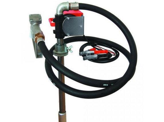 Бочковой насос для заправки и перекачки дизельного топлива PTP (DRUM TECH) 24В, 40 л/мин, фото 2