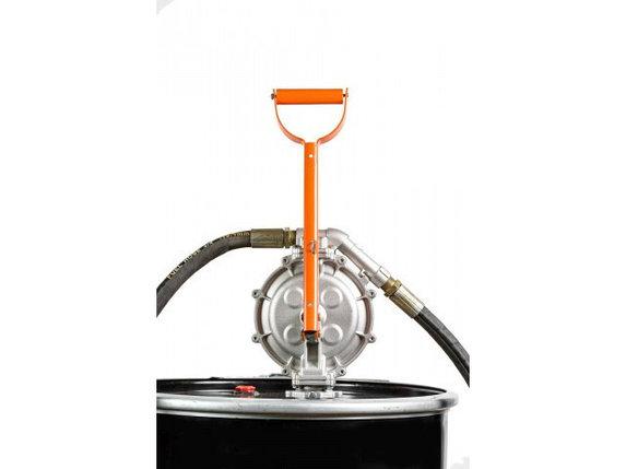 Ручной двухдиафрагменный насос для перекачки топлива DFP-60 (Bigga), фото 2