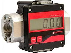 Счетчик учета большого протока дизельного топлива, легких масел MGE-250, 10-25 л/мин