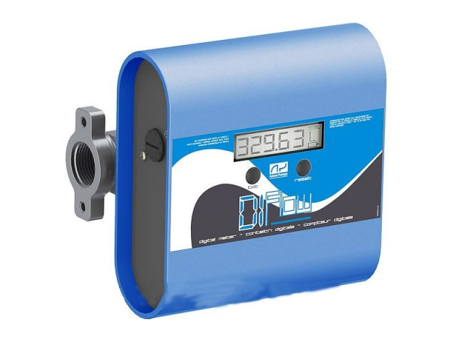 Счетчик учета выдачи дизельного топлива, масла DI-FLOW, 10-150 л/мин