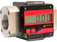 Электронный расходомер учета большого протока дизельного топлива, масла MGE 400, 15-400 л/мин