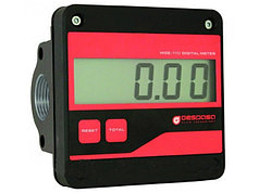 Электронный счетчик дизельного топлива, легких масел MGE-110, 5-110 л/мин