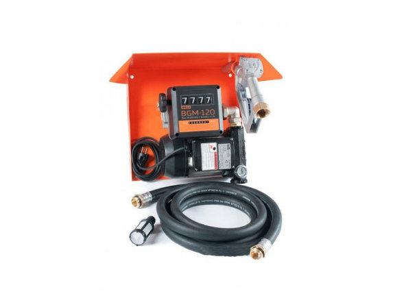 Gamma AC-100 - мини колонка для заправки техники топливом. Питание 220 В. Продуктивность 100 л/мин. Автоматиче, фото 2