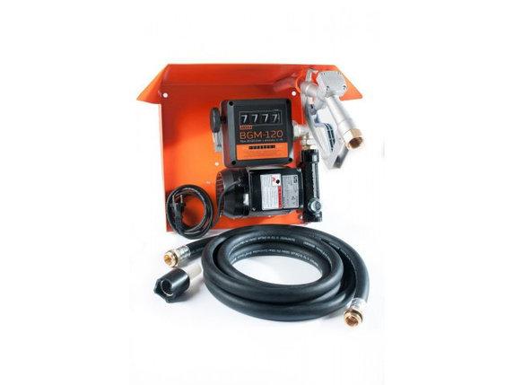 Gamma AC-70 - Мобильная топливораздаточная колонка для топлива с расходометром, 220В, 70 л/мин, фото 2