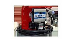Hi-Tech 70 - Мобильная топливораздаточная колонка для топлива с расходомером , 220В, 60 л/минатический