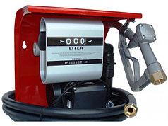 Hi-Tech 70 - Мобильная топливораздаточная колонка для топлива с расходометром, 220В, 60 л/мин