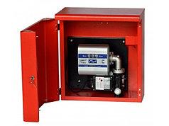 Высокопродуктивная топливозаправочная колонка для дт в металлическом ящике ARMADILLO 100, 220В, 100 л/мин