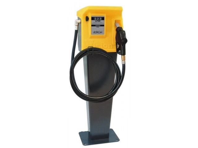 Заправочная колонка для дизельного топлива со счетчиком, BASE 60, 220В, 60 л/мин