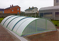 Павильон для бассейна из поликарбоната ULTRACLASSIC 4, Сотовый поликарбонат