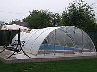 Павильон для бассейна из поликарбоната ULTRACLASSIC Сотовый поликарбонат, 5