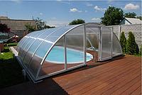 Павильон для бассейна из поликарбоната ULTRACLASSIC Монолитный поликарбонат, 3