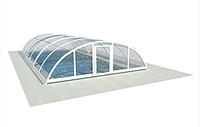 Павильон для бассейна из поликарбоната ULTRACLASSIC Монолитный поликарбонат, 4
