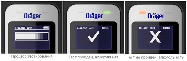 "Алкотестер ""Drager Alcotest 5000"""