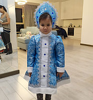 """Костюм """"Снегурочка"""" детский от 3 до 10 лет."""