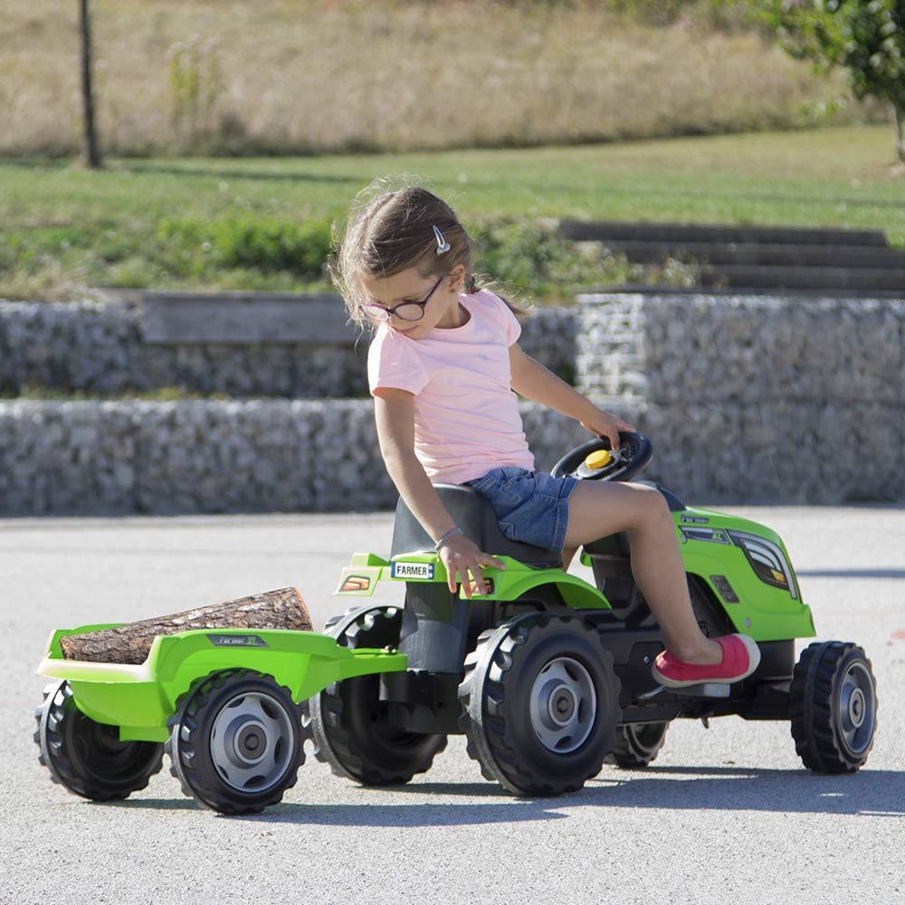 Педальный трактор с ковшом (Smoby, Франция) - фото 3