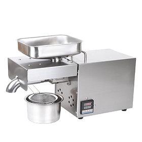 Маслопресс Akita Jp AKJP 400 шнековый электрический бытовой мини пресс для горячего и холодного отжима масла