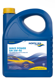 7204 NORTH SEA WAVE POWER SM 5W-40  ( 5L)