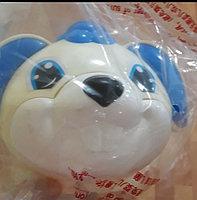 Ходунки-качалка с ручкой(синий-голубой,собачка), фото 2