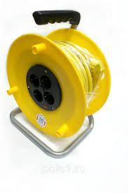 Удлинитель на катушке ПВС на 3х2,5мм  30м
