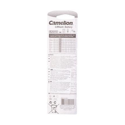Батарейка CAMELION Lithium CR2016-BP5 5 шт. в блистере, фото 2