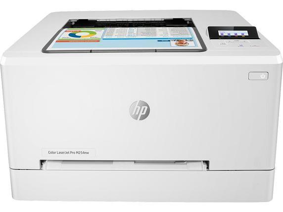 Принтер лазерный HP Color LaserJet Pro M254nw A4, фото 2