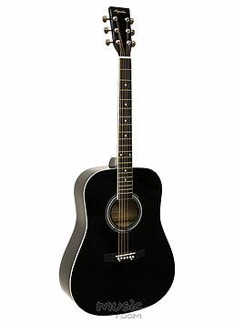 Электроакустическая гитара  Agnetha AAG-E130Е BK