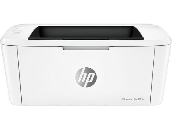 Принтер лазерный HP LaserJet Pro M15w A4, фото 2