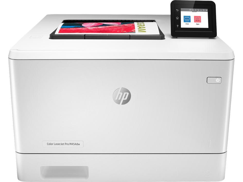 Принтер лазерный HP Color LaserJet Pro M454dw