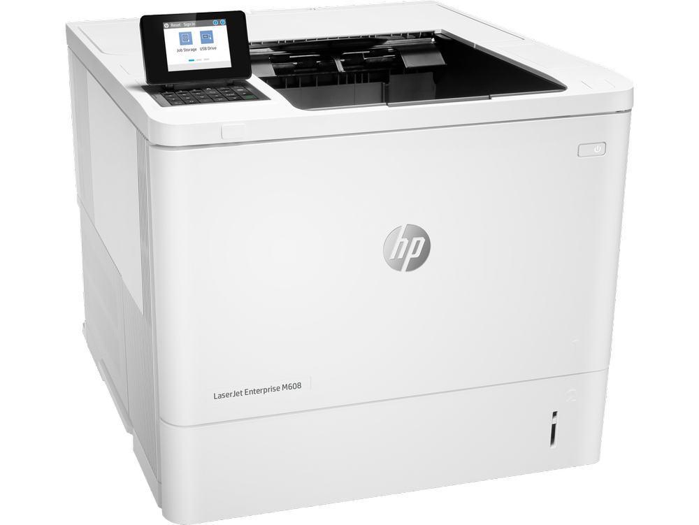 Принтер лазерный HP K0Q17A LaserJet Ent M608n (A4)