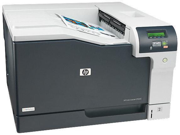 Принтер лазерный цветной HP CE710A Color LaserJet CP5225 (А3), фото 2