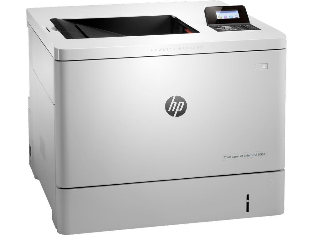 Принтер лазерный цветной HP Color LaserJet Enterprise M553n (А4)