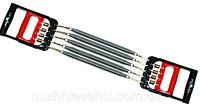 Эспандер плечевой 2 в 1, 5 пружин, пласт. ручки, эспандер кистевой